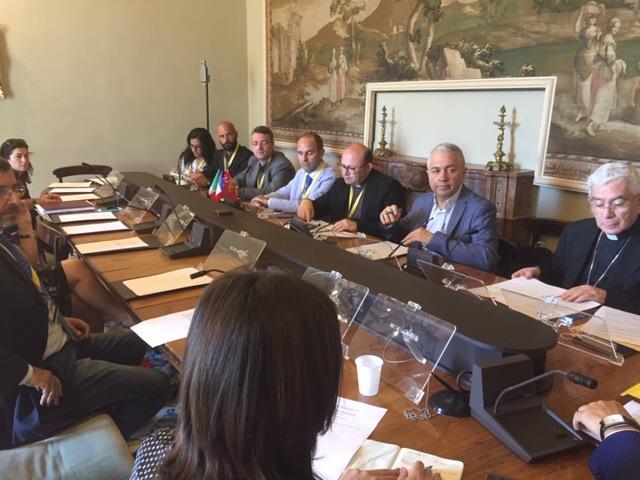 AUDIZIONE PRESSO LA COMMISSIONE ARS PER L'ESAME DELLE QUESTIONI CONCERNENTI L'ATTIVITÀ DELL'UNIONE EUROPEA
