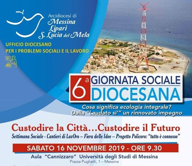 """""""CUSTODIRE LA CITTA'… CUSTODIRE IL FUTURO"""": 6° GIORNATA SOCIALE DIOCESANA"""