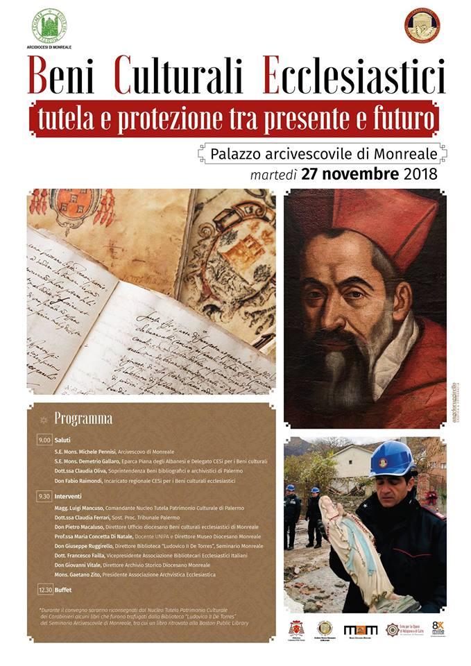 """""""BENI CULTURALI ECCLESIASTICI: TUTELA E PROTEZIONE TRA PRESENTE E FUTURO"""""""