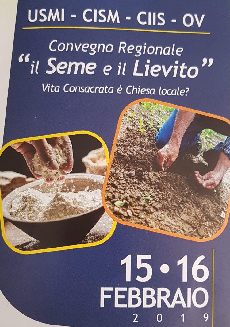 """""""IL SEME E IL LIEVITO. VITA CONSACRATA È CHIESA LOCALE?"""""""