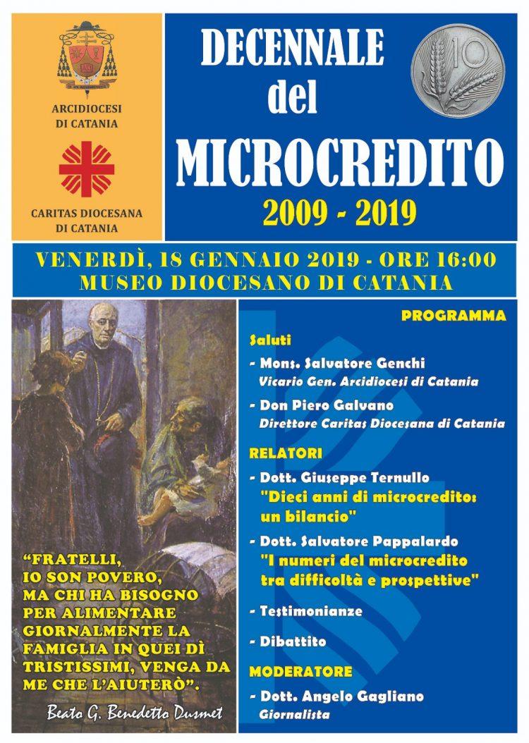 CARITAS: IN 10 ANNI DI MICROCREDITO EROGATI 791MILA EURO PER FAMIGLIE E MICROIMPRESE