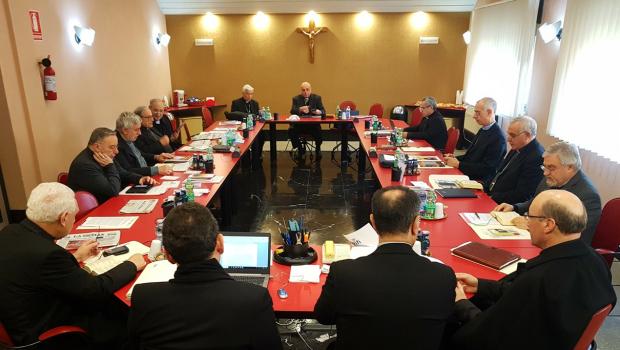 I VESCOVI DI SICILIA SI RIUNISCONO PER LA SESSIONE INVERNALE DI LAVORO