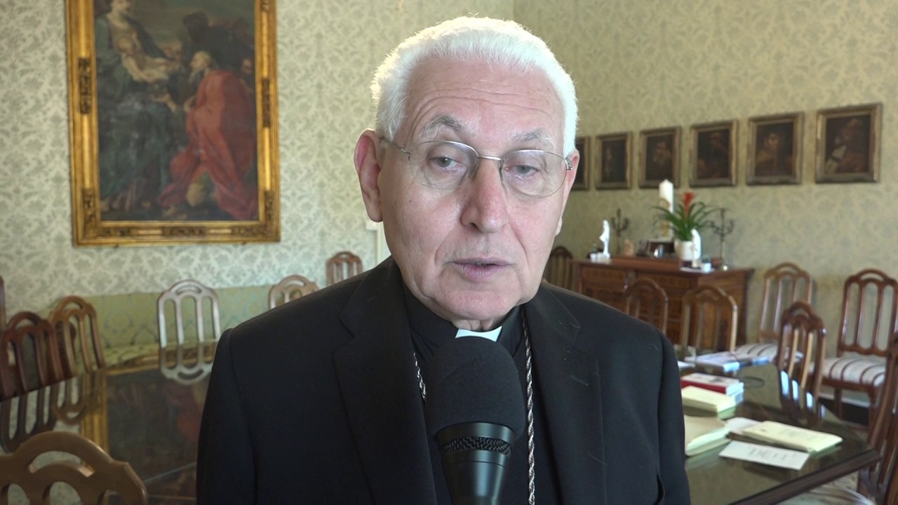 I LAVORATORI DELLA SOCIETÀ SIRACUSA RISORSE DALL'ARCIVESCOVO PAPPALARDO
