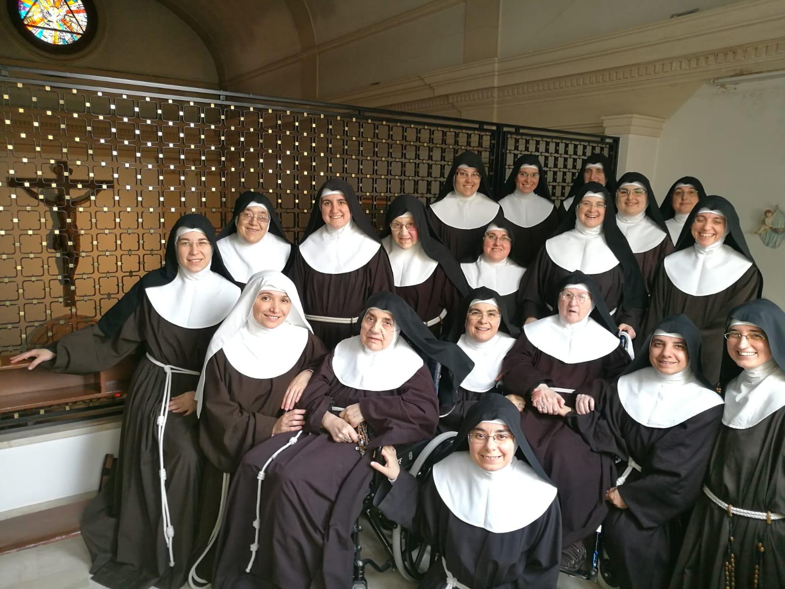 LE CLARISSE DEL SACRO CUORE NELL'EX CONVENTO DEI CAPPUCCINI AD ERICE