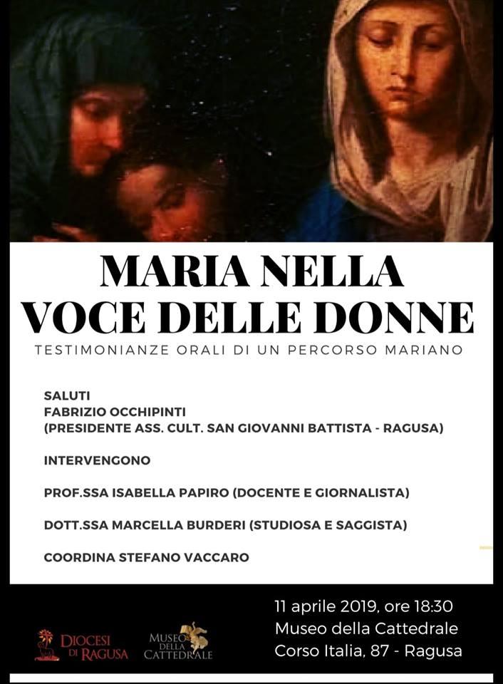 LA DEVOZIONE MARIANA RACCONTATA DALLE DONNE. CANTI, LITANIE, PREGHIERE E POESIE DELLA TRADIZIONE
