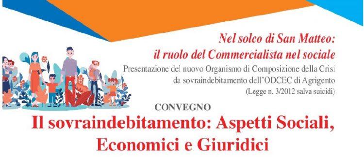 """""""IL SOVRA-INDEBITAMENTO: ASPETTI SOCIALI, ECONOMICI E GIURIDICI"""""""