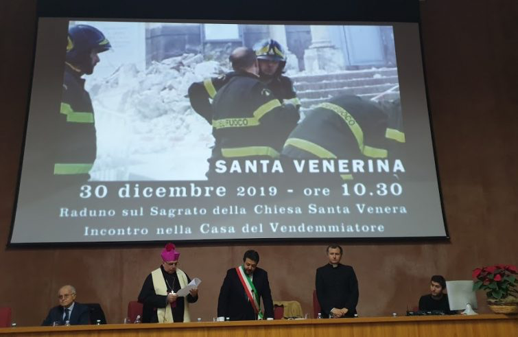 """""""INSIEME PER RICOSTRUIRE"""": INCONTRO AD UN ANNO DAL SISMA DI SANTO STEFANO"""