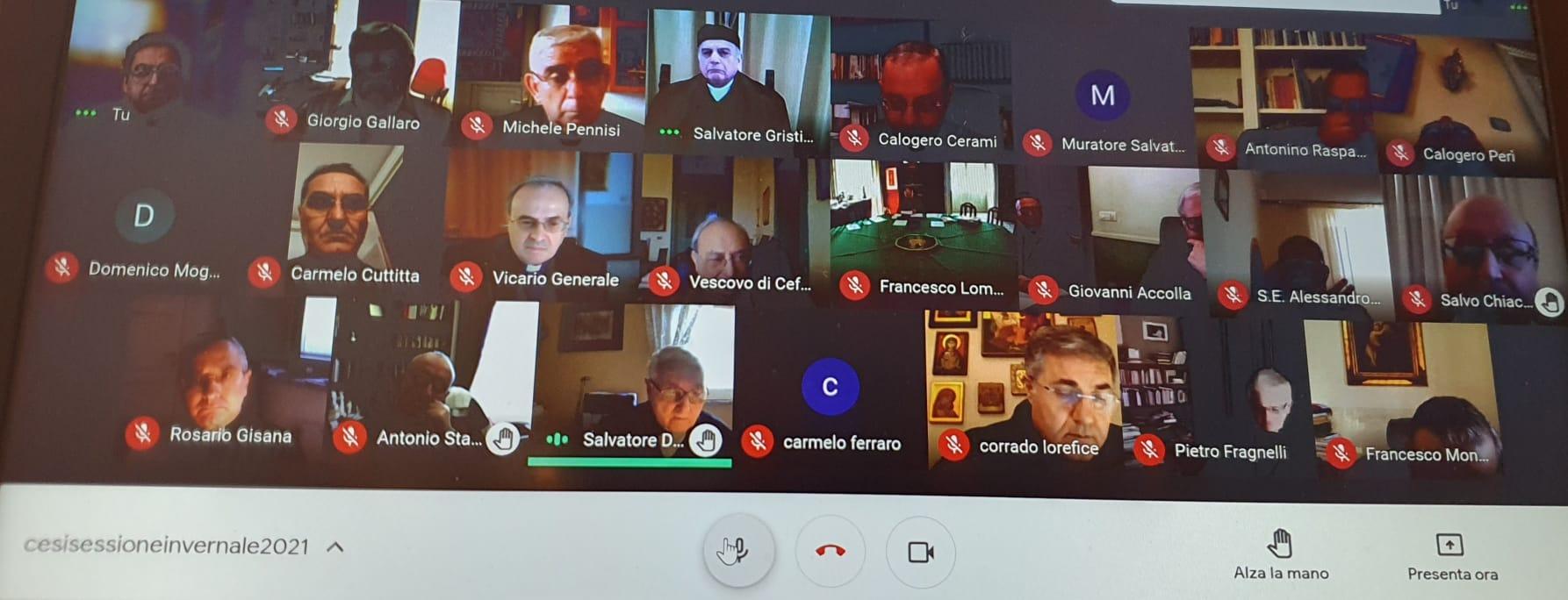 COMUNICATO FINALE DELLA SESSIONE INVERNALE DELLA CESI